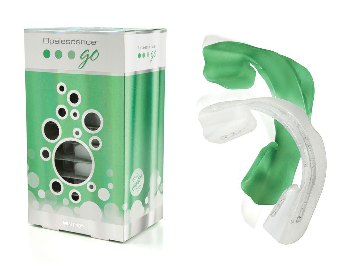 Kit Opalescence GO cu aroma de menta