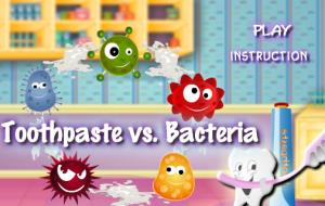 Joc Pasta de dinti impotriva Bacteriei